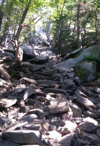 White Cross trail - Mount Monadnock