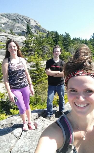 Climbing Mount Monadnock
