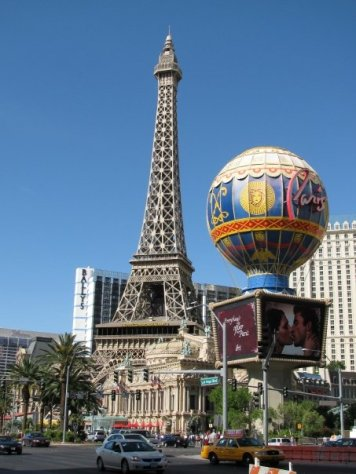 Effiel Tower in Las Vegas