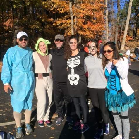 Scare Away Cancer 5K on Halloween in Sturbridge, MA