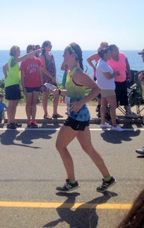 Training for a Half Marthon by racing in the Falmouth Road Race