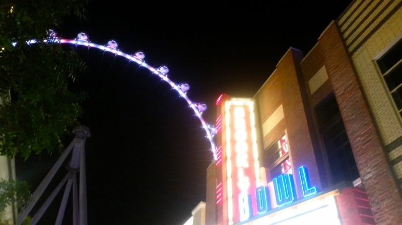 The Linq Promenade and the High Roller