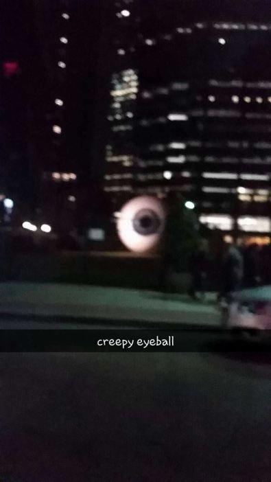 Eyeball Sculpture, Dallas Texas