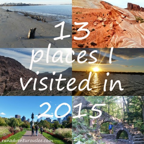 13 Places I visited in 2015
