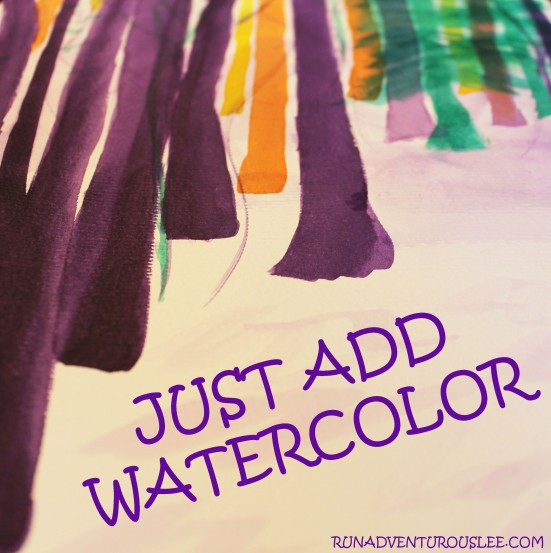 Review of Just Add Watercolor by Helen Birch