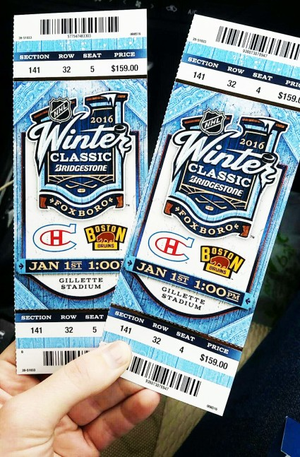NHL Winter Classic - Boston Bruins vs Montreal Canadiens