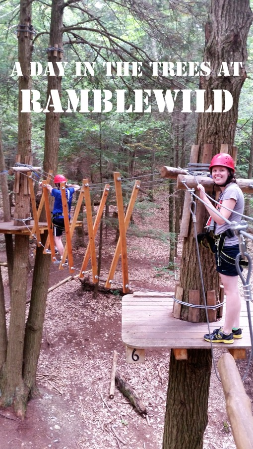 A Day in the Trees at Ramblewild