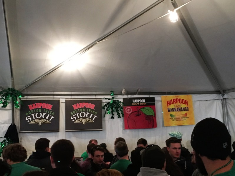 Harpoon St. Patricks Day Festival