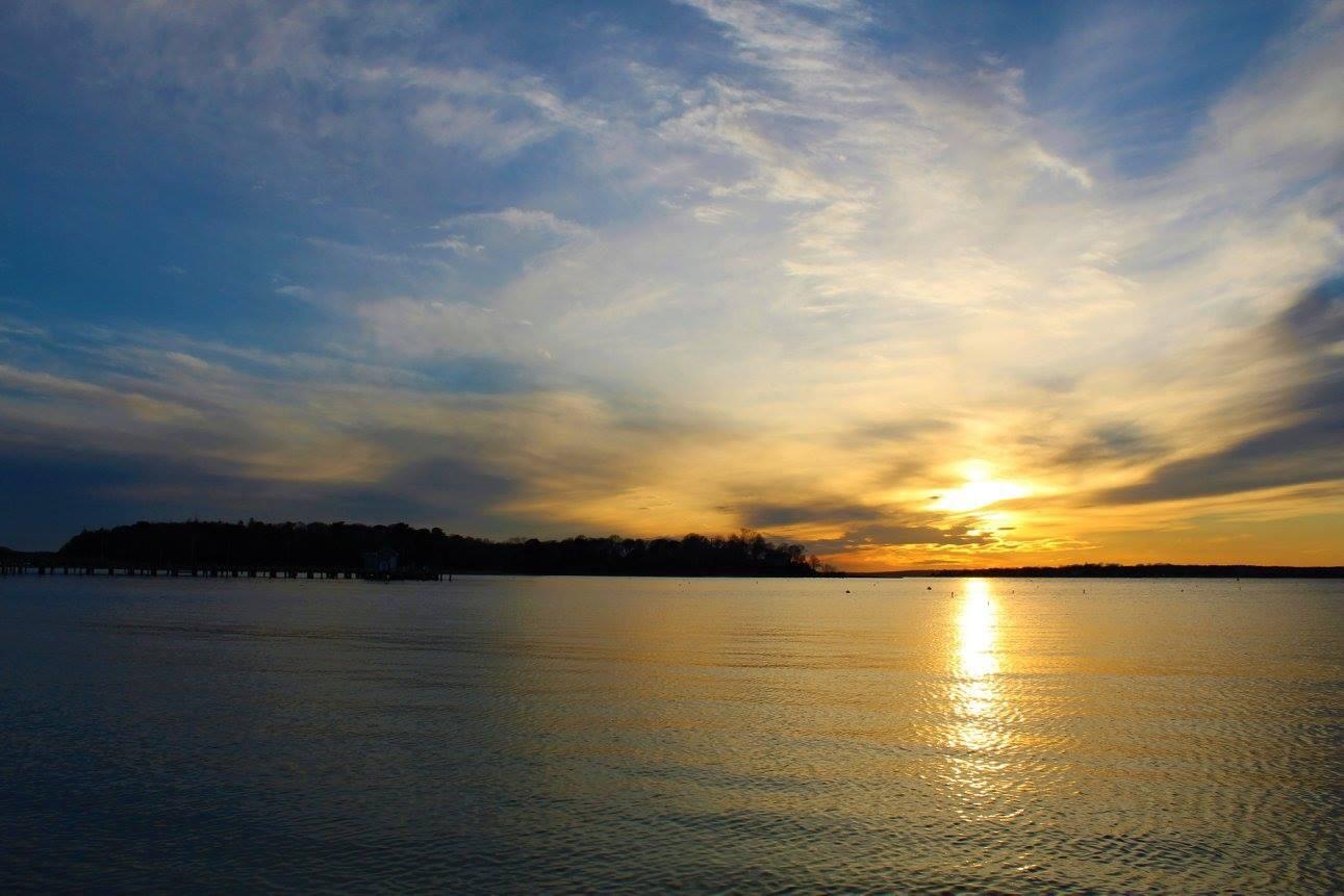 Monument Beach Sunset