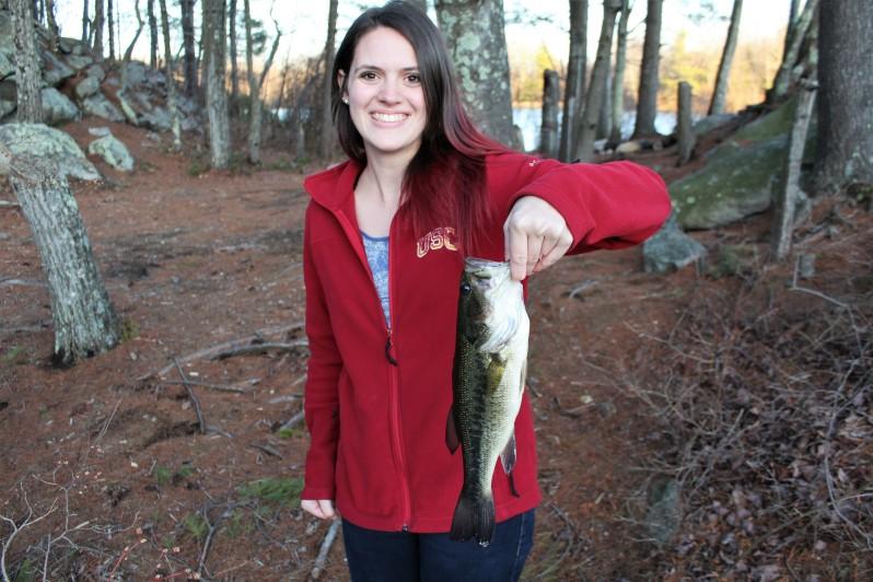 Fishing in Deer Park, Massachusetts