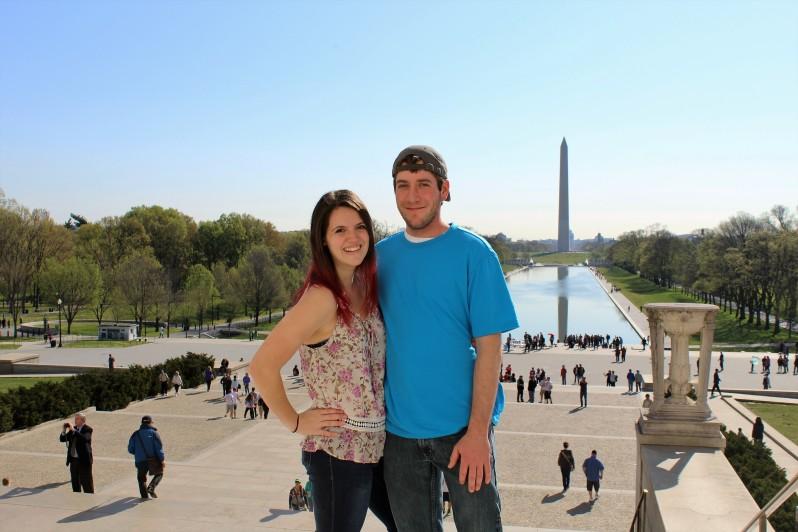Washington Memorial from the Lincoln Memorial