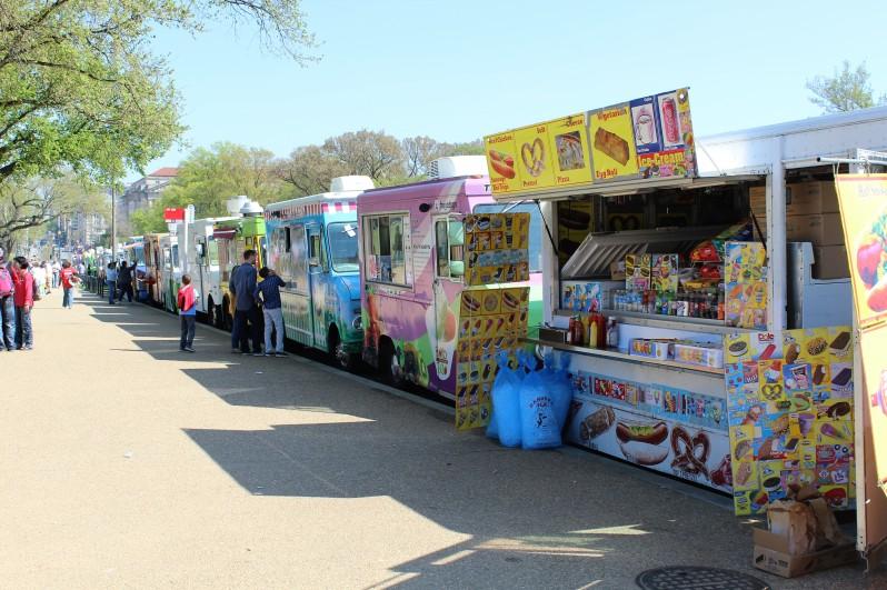 Food trucks in D.C.