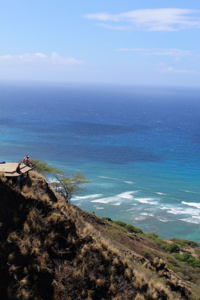 Looking out over Diamond Head